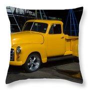 Shipyard Gmc Throw Pillow