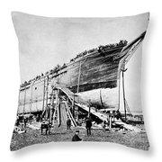 Shipyard Throw Pillow