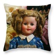 Shirley Shirley Throw Pillow