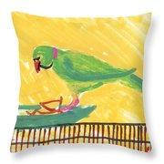 Shirley's Bird Throw Pillow