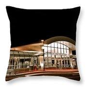 Shirlington Station Throw Pillow