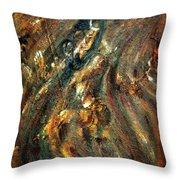 Shiva Eternal Dance - Vintage Throw Pillow