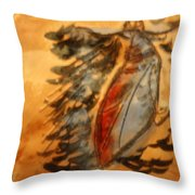 Shivers Of Delight - Tile Throw Pillow