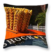 Shock Top Throw Pillow
