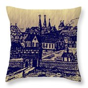 Shoenou Monastary Germany Throw Pillow