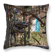 Shoes And Other Stories Throw Pillow