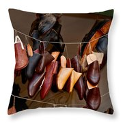 Shoes For Sale Throw Pillow