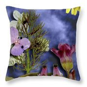 10190 Ghost Of Lost Souls - Shoo Throw Pillow