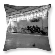 Shooters Alley Throw Pillow