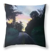 Shootin Creek Sunrise Throw Pillow
