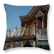 Shooting Gallery Throw Pillow
