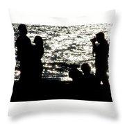 Shooting Sunset Throw Pillow