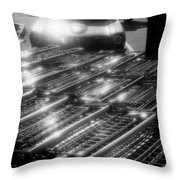 Shopping Carts  Throw Pillow