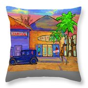 Shopping Trio Throw Pillow