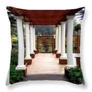 Shore Acres State Park 1 Throw Pillow