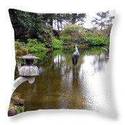 Shore Acres State Park 2 Throw Pillow