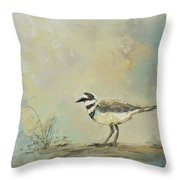 Shore Bird 2945 Throw Pillow