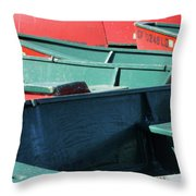 Shore Duty Throw Pillow