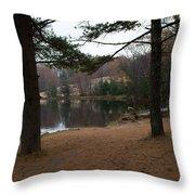 Shore On Hamlin Throw Pillow