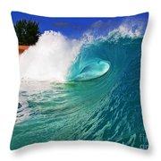 Shorebreaker Throw Pillow