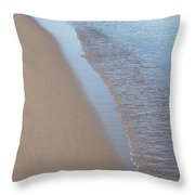 Shoreline Meditation Throw Pillow