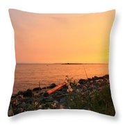 Shoreline Shades Throw Pillow
