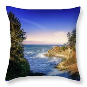 Shores Acres Cove Throw Pillow