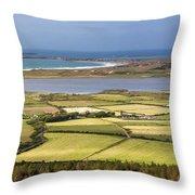 Shores Of Fahamore Ireland Throw Pillow