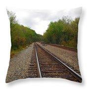 Shortest Distance Throw Pillow