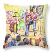 Show In Yaounde Throw Pillow