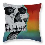 Show Me Your Teeth Throw Pillow