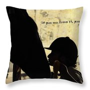 Show Success Quote Throw Pillow