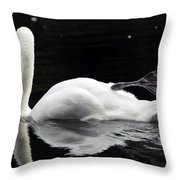 Showing Off Throw Pillow