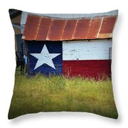Showing Texas Pride Throw Pillow