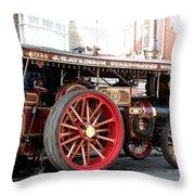 Showmans Engine Throw Pillow