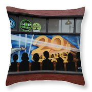 Showtime 2 Throw Pillow