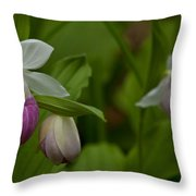 Showy Impressions Throw Pillow