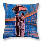 Shree 420 Throw Pillow