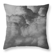 Shrimp Clouds Throw Pillow
