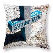 Shrimp Jack Throw Pillow