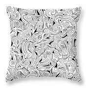 shRMgaaragiita Throw Pillow