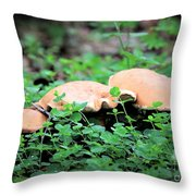 Shroom, Shroom, Shroom Throw Pillow