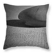 Shrooming In Leipzig Throw Pillow