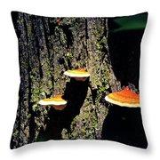 Shroomtree Throw Pillow