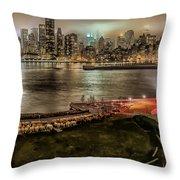 Shrouded City 5255 Throw Pillow