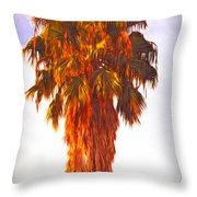 Shrouded In The Past 3 Throw Pillow