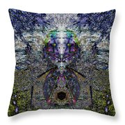 Shrubboth Throw Pillow