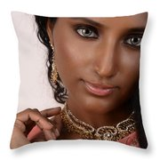 Shruthi K. Throw Pillow