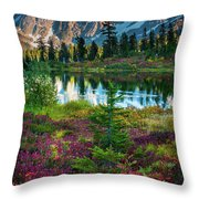 Shuksan Autumn Throw Pillow