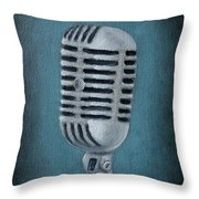 Shure Thing Throw Pillow